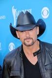 Tim McGraw alla quarantacinquesima accademia di musica country assegna gli arrivi, arena del giardino del Mgm Grand, Las Vegas, na immagini stock libere da diritti