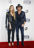 Tim McGraw and Maggie McGraw Royalty Free Stock Image
