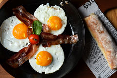 Tim śniadanie Zdjęcie Stock