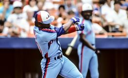 Tim Raines Fotografie Stock
