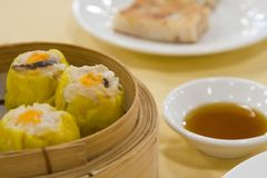 Tim Sum - Siew Mai Stock Photo