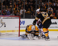 Tim Thomas, Boston Bruins Στοκ Φωτογραφία