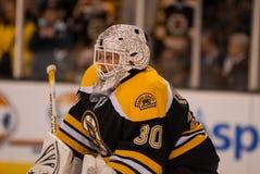 Tim Thomas, Boston Bruins Images libres de droits