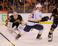 Tim Thomas, Boston Bruins Image libre de droits