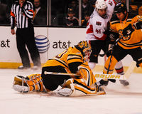 Tim Thomas Boston Bruins. Stock Image