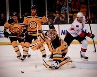 Tim Thomas Boston Bruins. Royalty Free Stock Images