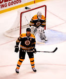 Tim Thomas and Zdeno Chara Royalty Free Stock Image