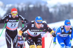 Tim Tscharnke - cross country skier Stock Images