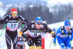 Tim Tscharnke - cross country skier Stock Images