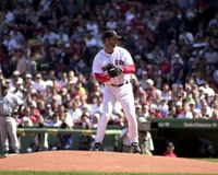 Tim Wakefield Boston Red Sox Royaltyfria Foton