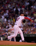 Tim Wakefield, Boston Red Sox Lizenzfreie Stockfotos