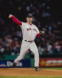 Tim Wakefield Boston Red Sox. Boston Red Sox knuckleball pitcher Tim Wakefield. (Image taken from color slide Stock Photos