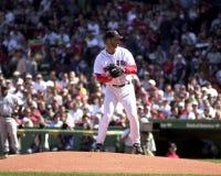 Tim Wakefield, les Red Sox de Boston Photos libres de droits