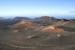 Timanfaya. Lanzarote, Canary islands, Timanfaya National Park Royalty Free Stock Image