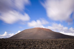Timanfaya. Mountains of timanfaya park in lanzarote island Stock Photography