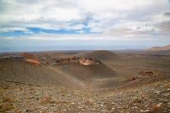 Timanfaya Arkivbild