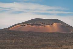 timanfaya för 2011 canarian öjuni lanzarote nationalpark Arkivbild