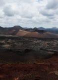 timanfaya för 2011 canarian öjuni lanzarote nationalpark Fotografering för Bildbyråer