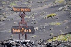 Timanfaya, Lanzarote Fotografia de Stock