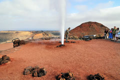 Timanfaya Royalty Free Stock Photography