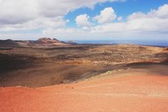 Timanfaya, Lanzarote Stock Photography