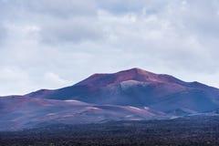 Timanfaya mountains of fire Lanzarote Stock Image