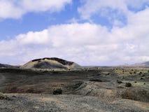 Timanfaya Nationaal Park Stock Foto's