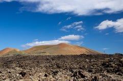 Timanfaya Nationaal Park, Lanzarote Stock Fotografie