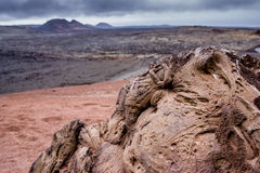 Timanfaya Nationaal Park - Lanzarote Royalty-vrije Stock Foto
