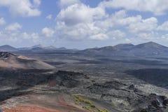 Timanfaya National Park. Royalty Free Stock Photo