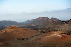 Timanfaya National Park Royalty Free Stock Photography