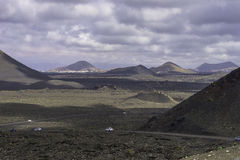 Timanfaya National Park. Royalty Free Stock Image