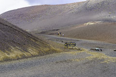 Timanfaya National Park. Stock Image