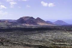 Timanfaya National Park. Stock Images