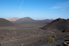 Timanfaya, Nationalpark Lizenzfreie Stockfotos