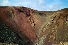 Timanfaya nationalpark 008 Arkivfoto