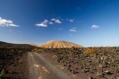Timanfaya nationalpark, Lanzarote Royaltyfri Foto