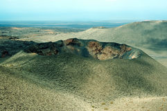 Timanfaya volcano Stock Photo
