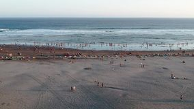 Timang海滩空中英尺长度  影视素材
