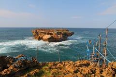 Timang plaża i wyspa Zdjęcie Stock