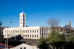Timaru的,新西兰图书馆 库存照片