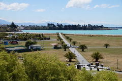 Timaru, New Zealand. Timaru is a major port city in the southern Canterbury region of New Zealand Royalty Free Stock Photos