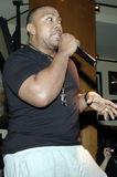 Timbaland performing live Royalty Free Stock Photography