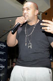 Timbaland performing live. Royalty Free Stock Image