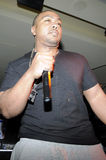 Timbaland performing live. Royalty Free Stock Photo