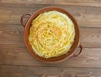 Timbale del formaggio Fotografia Stock
