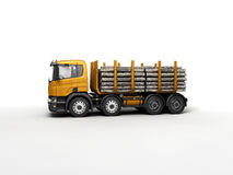 Timber. Big timber for wood transportation Royalty Free Stock Photo