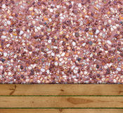 Timber and aggregate details Stock Image