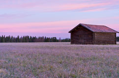 A timber barn Royalty Free Stock Photography