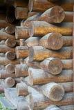 Timber blocking Stock Photos